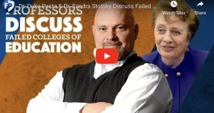 Dr. Duke Pesta and  Dr. Sandra Stotsky Discuss Failed Colleges of Education